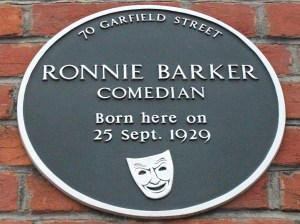 RonnieBarkerPlaque