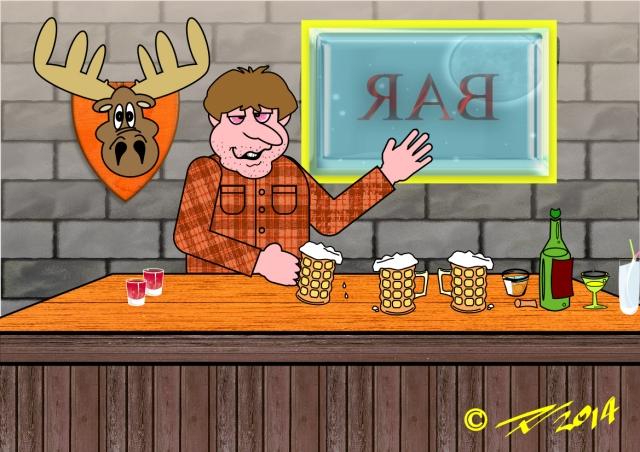 That Guy At The Bar a funny poem by Trinity Nicholas